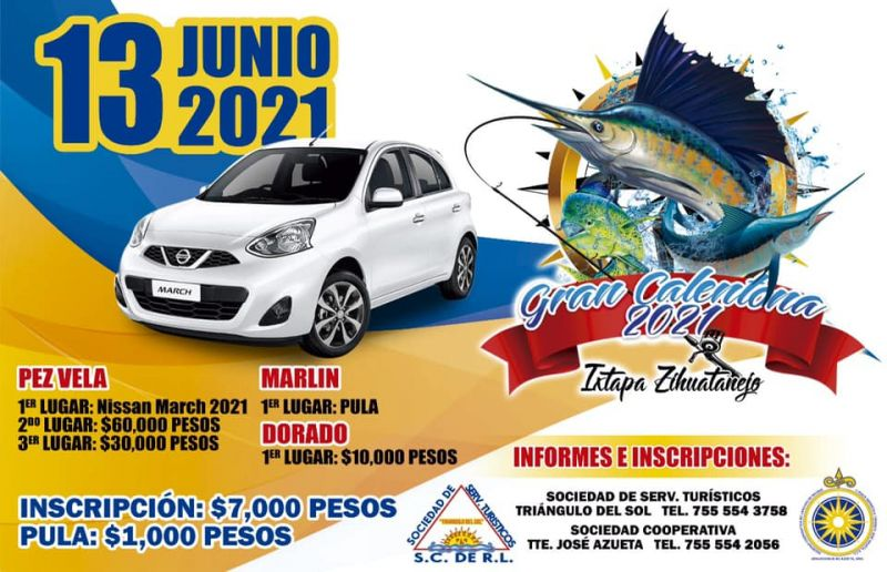 Gran Calentona 2021 Ixtapa-Zihuatanejo