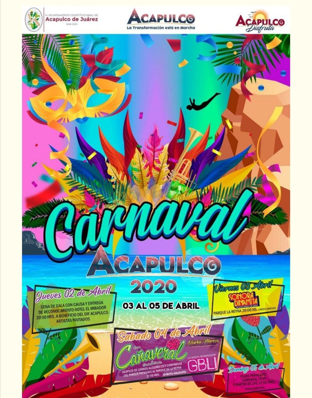 Carnaval Acapulco 2020